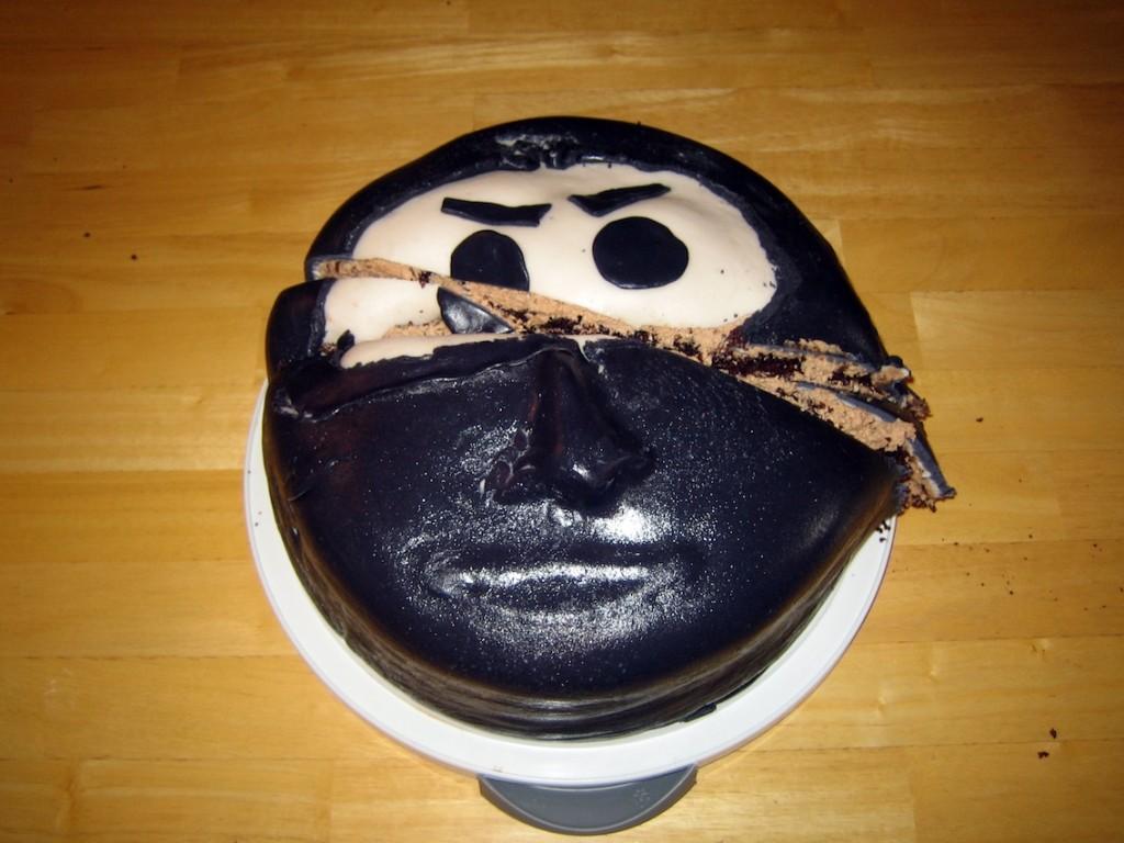 Ninja Birthday Cake 006