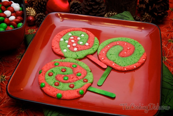 Christmas Lollipop Cookies Recipe The Cooking Dish