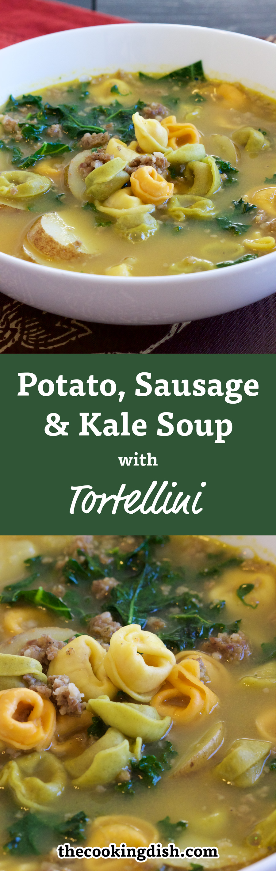 Have you tried this? Sausage, Potato, Kale Soup with Tortellini is ...