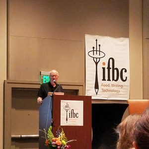 Chef John Ash speaks to IFBC attendees